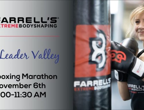 Farrell's eXtreme Bodyshaping Hosts Kickboxing Marathon to Support Leader Valley